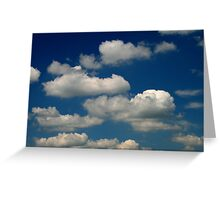 Powder Puffs and Cotton Candy Greeting Card