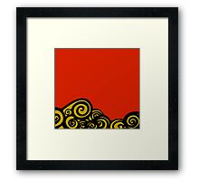Golden Ocean Framed Print