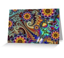 Colours of Happiness. Greeting Card