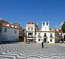 Wavy Paving - Cascais by Marilyn Harris