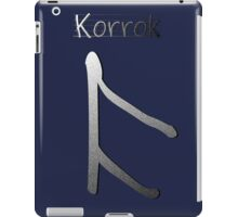 Korrok iPad Case/Skin