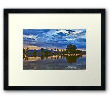 Tucson Sunrise Framed Print