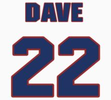 National Hockey player Dave Lumley jersey 22 by imsport