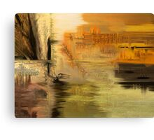 Sunset in My Mind  Canvas Print