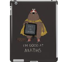 i'm good at maths iPad Case/Skin
