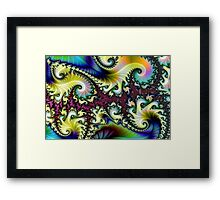 Psychedelic Dream. Framed Print