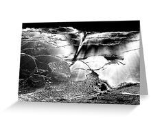 Metal landscape Greeting Card