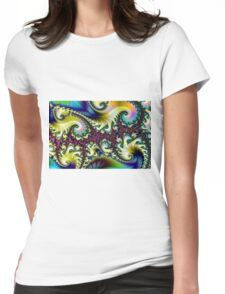 Psychedelic Dream. Womens Fitted T-Shirt