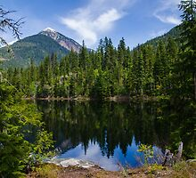 Echo Lake by RevelstokeImage