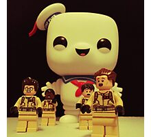 Stay Puft On The Charge Photographic Print