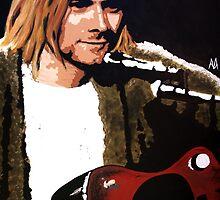 Kurt Cobain 2 by Antonio Méndez Díaz