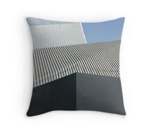 modern architecture detail Throw Pillow