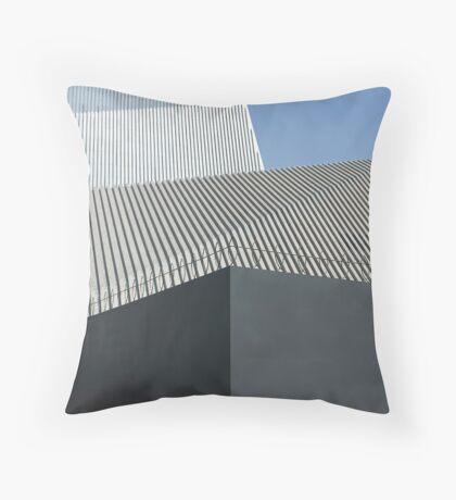 modern architecture detail Throw Pillow