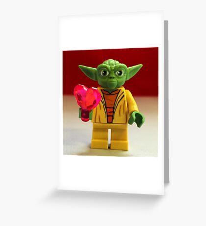 Yoda Valentines Greeting Card