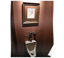 hello, Dali (public urinal series #1) Poster