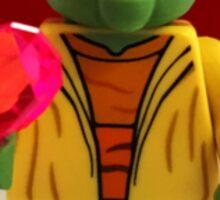 Yoda Valentines Sticker