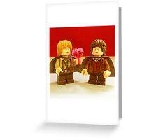 Sam Loves Frodo Greeting Card
