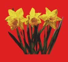 Daffodil Trio One Piece - Short Sleeve