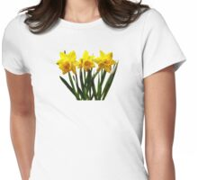 Daffodil Trio Womens Fitted T-Shirt