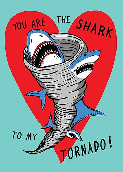Shark To My Tornado by jarhumor