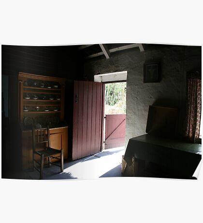 Bunratty cottage kitchen Poster