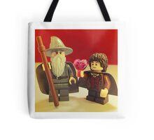 Frodo Loves Gandalf Tote Bag