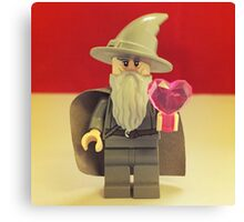 Gandalf Valentines Canvas Print