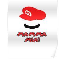 Mario Mamma mia! Poster