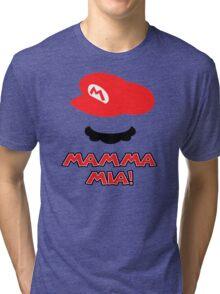 Mario Mamma mia! Tri-blend T-Shirt