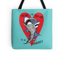 Shark To My Tornado Tote Bag