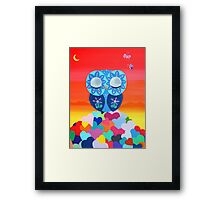 Love Meditations Framed Print