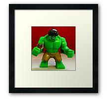 Hulk Valentines Framed Print