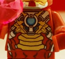 Iron-Man Valentines Sticker
