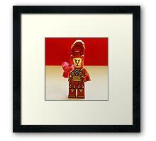 Tony Stark Valentines Framed Print