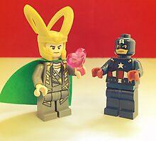 Loki Loves Cap' by FendekNaughton