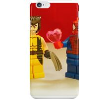 Spider-Man Loves Wolverine iPhone Case/Skin