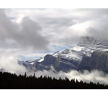 Summer Snowstorm - Banff Photographic Print
