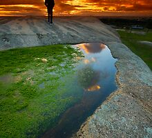 Standing on the top of Planet Jupiter by Luka Skracic