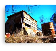 Little Shack on the Prarie Canvas Print