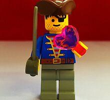 Lego Pirate Valentines by FendekNaughton