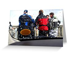 bikers meeting Greeting Card