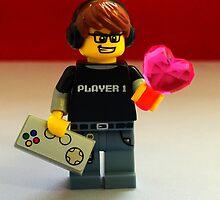 Lego Gamer Valentines by FendekNaughton