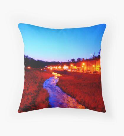 Main St Throw Pillow