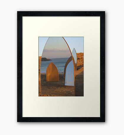 The Mirror Confusion Framed Print