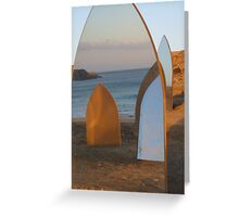 The Mirror Confusion Greeting Card