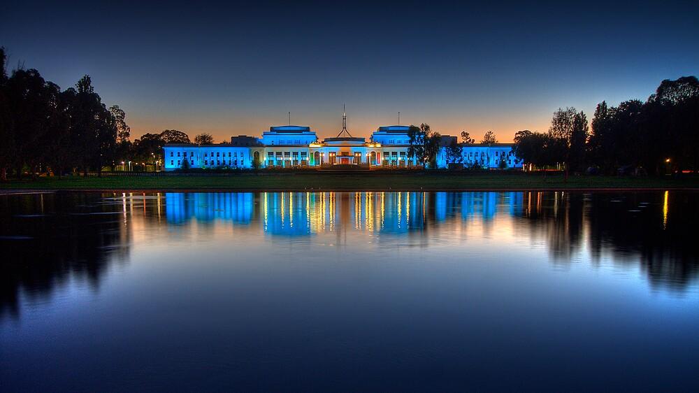Old Parliament House 2. by DaveBassett