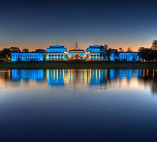 Old Parliament House 2. by DaveBassett