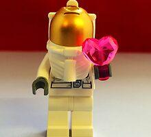 Lego Spaceman Valentines by FendekNaughton