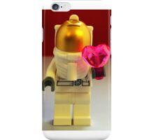 Lego Spaceman Valentines iPhone Case/Skin