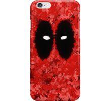 Deadpool Splatter iPhone Case/Skin